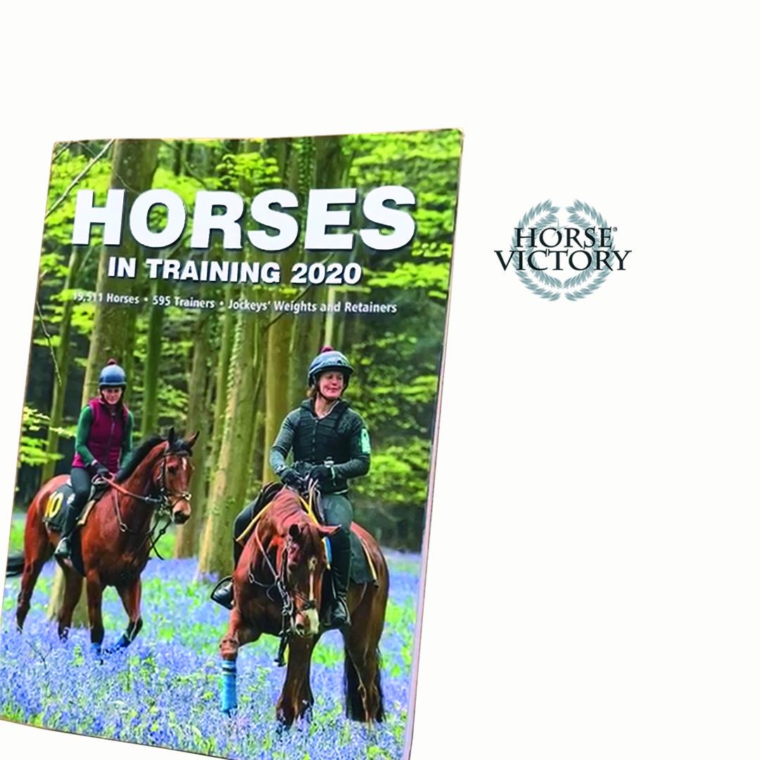 Horse Victory staat dit jaar in het meest populaire raceboek van het Verenigd Koninkrijk, Horses in Training.